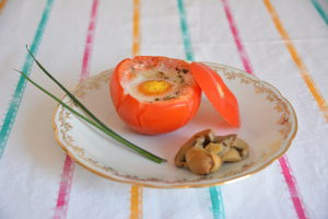 oeuf cocotte en tomate 3