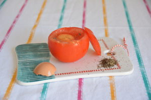 oeuf cocotte en tomate 4