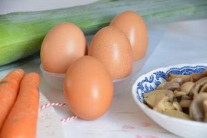 omelette aux légumes 5