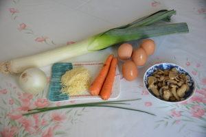 omelette aux légumes 6