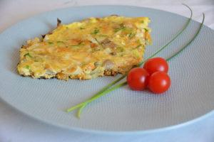 Recette healthy – L'omelette aux légumes