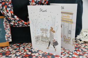 My little box janvier 2018 cartes