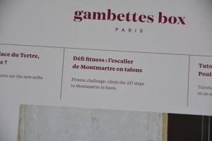 Gambettes Box fevrier 20193