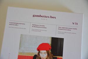 Gambettes Box fevrier 20194