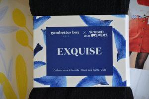 gambettes box avril 2019 10