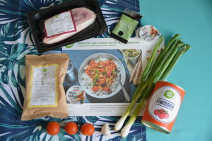 hellofresh emince lard ingredients