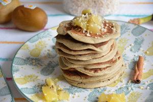 Pancakes healthy avec seulement 3 ingrédients